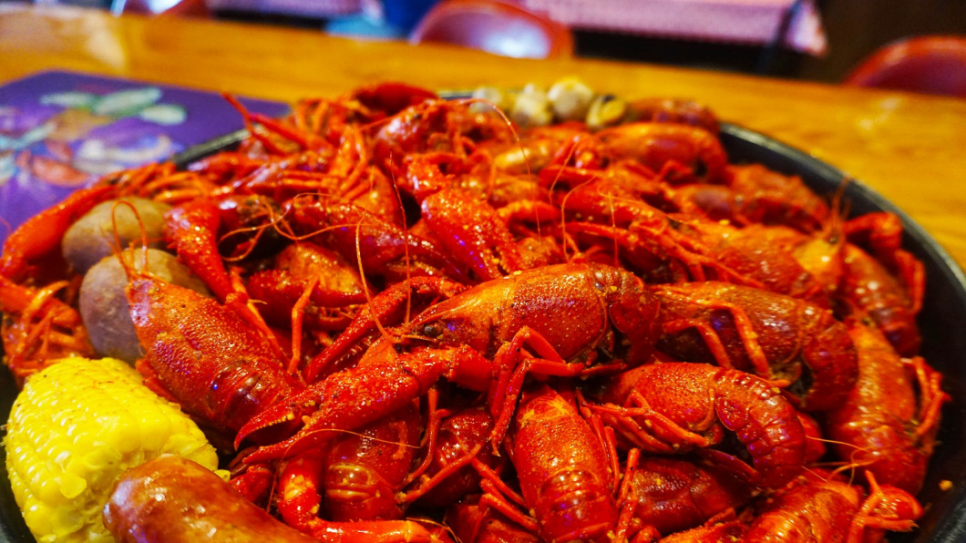 ALWAYS BOILED TO ORDER CRAWFISH!