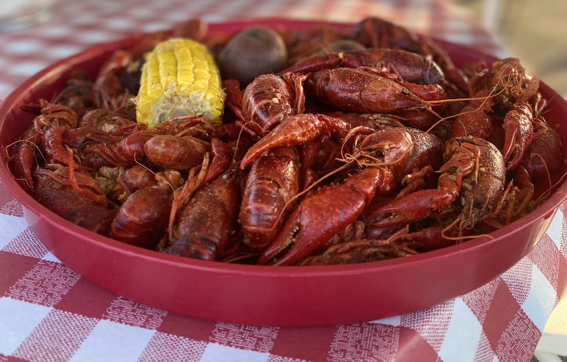 ALL YOU CAN EAT BOILED CRAWFISH MONDAY-THURSDAY NIGHTS AT 4:30